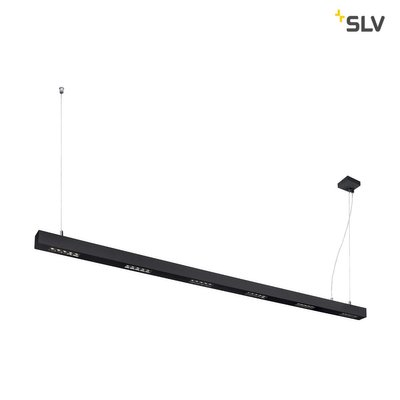 Q-LINE PD, LED Indoor pendant light, 2m, BAP, black, 4000K
