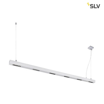 Q-LINE PD, LED Indoor pendant light, 2m, BAP, silver, 4000K